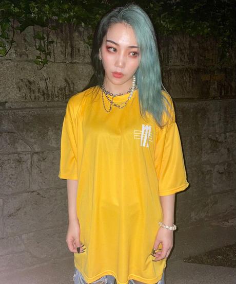 """[ 我儘ラキア ]  JOKER """"DRY"""" T-shirt -オレンジ-"""