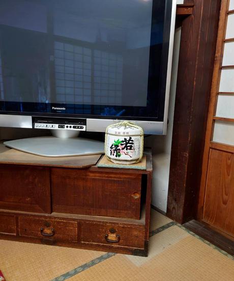 若緑オリジナル菰樽(こもだる)1,800ml※酒別売