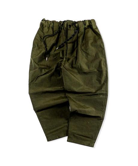 Watashi Comfortable Pants - Nylon Rip - ARMY GREEN