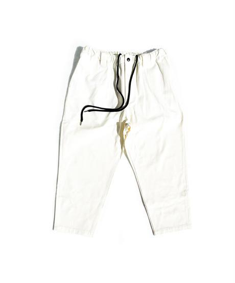 Watashi Comfortable Pants - Chino / WHITE
