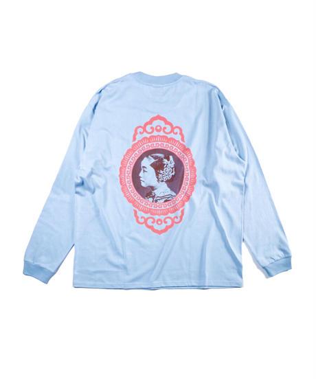 私真姑娘 L/S T-shirt -LIGHT BLUE