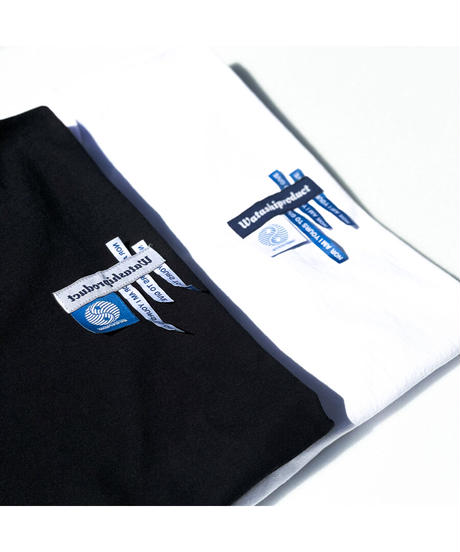 TAGS L/S T-shirt -WHITE
