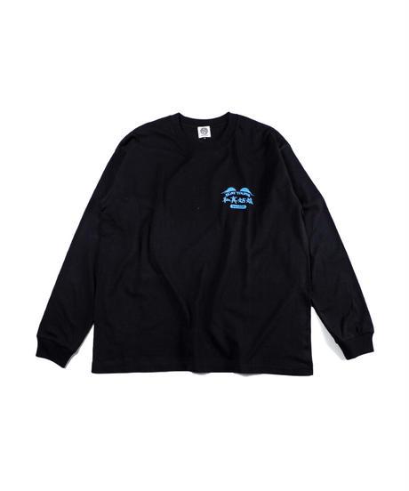 私真姑娘 L/S T-shirt -BLACK