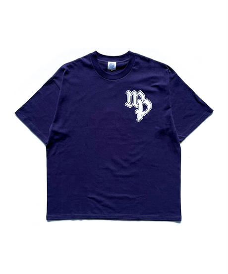 Give Flower T-shirt -NAVY
