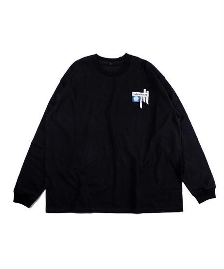 TAGS L/S T-shirt -BLACK