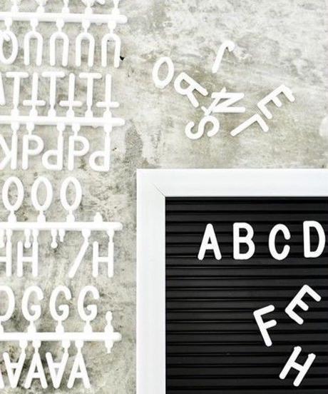 330623【人気】レターボード ・壁掛けタイプ(ブラック)