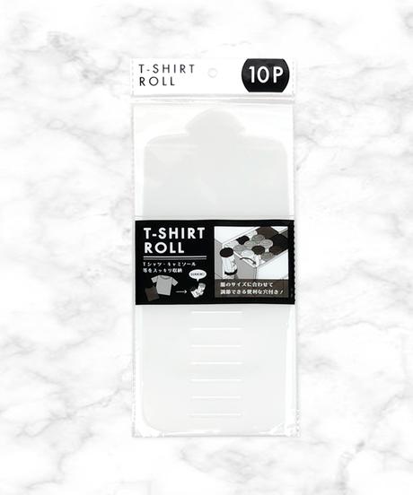 【人気・収納】20555 Tシャツロール 10P