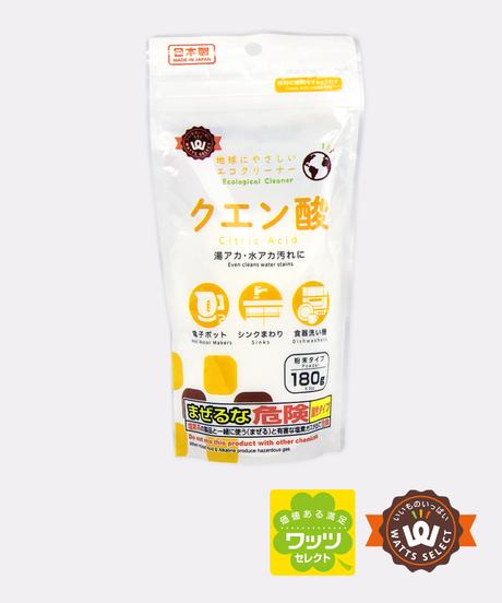 21032【インスタ掲載・ワッツセレクト人気商品】PB.クエン酸 180g