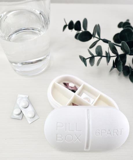 【話題】330500 ピル携帯用ケース 錠剤型(白色)