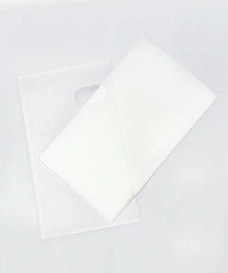 46048 PB. 名刺ファイル3段 120P ケース付 ホワイト