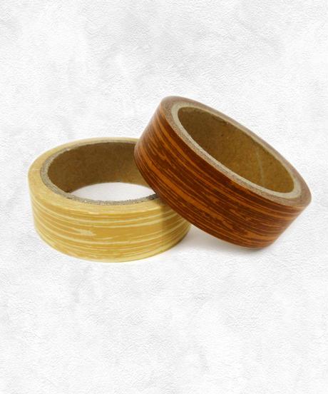 【再販・人気】96145 マスキングテープ木目(6m・WS-1123)2色