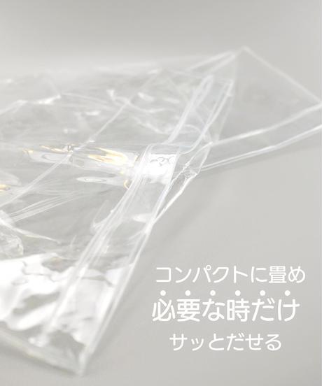 334268【人気】クリア収納バケツ 約25xH25cm