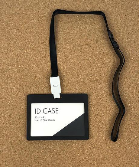 IDケース (ホワイト/ブラック)