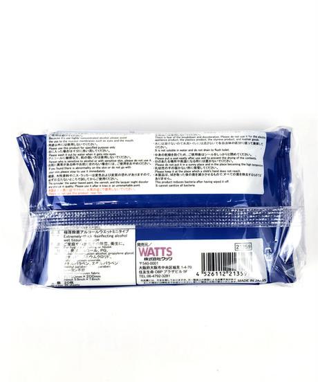 【数量限定・お一人様3点】PB.極厚除菌アルコールウェットミニ 20枚×2個パック