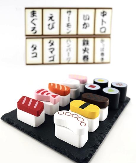 339381【再販・SNS話題】木製おままごとセット にぎり寿司2 2個セット