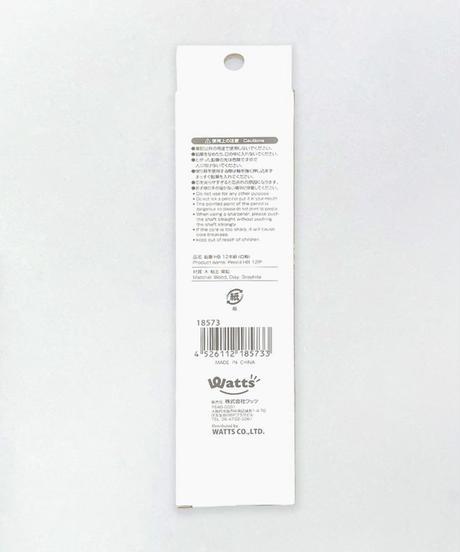18573 PB.鉛筆HB12本組(白軸)