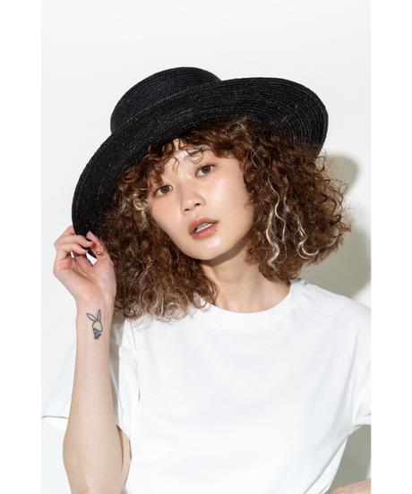 麦わら帽子【WCJ-SM-007BK】