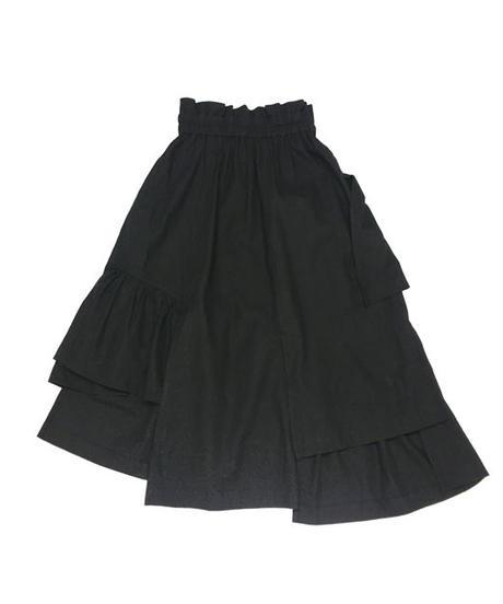 ミリタリースカート【WCJ-GN-005BK】