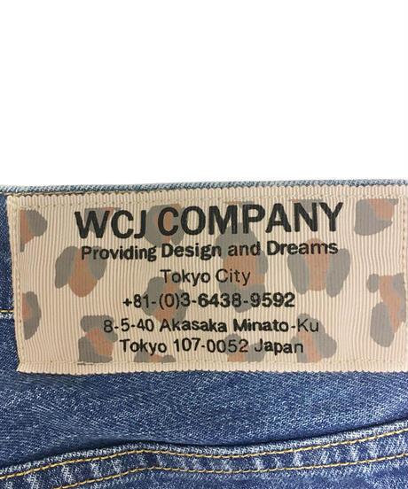テーパードデニムパンツ【WCJ-DG-002BU】