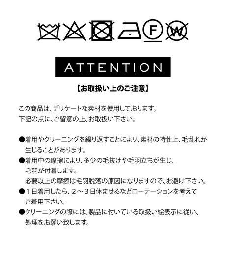 配色ウールチェックコート【WCJ-WB-005NV】