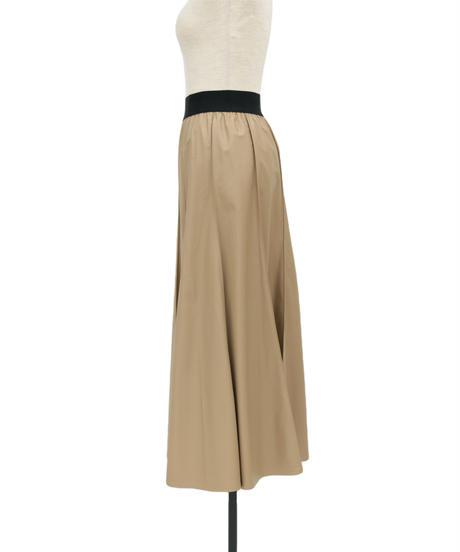 LOANA 80-40101 フェイクレザーフレアスカート