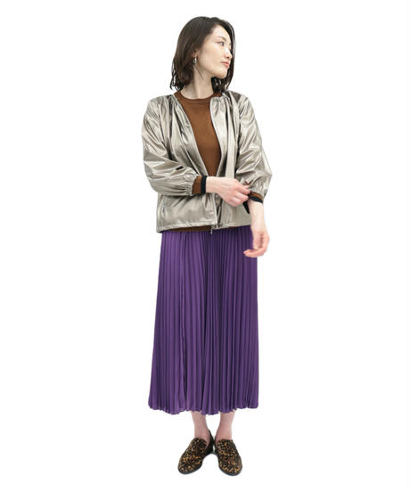 LOANA 80-49500 カラープリーツスカート