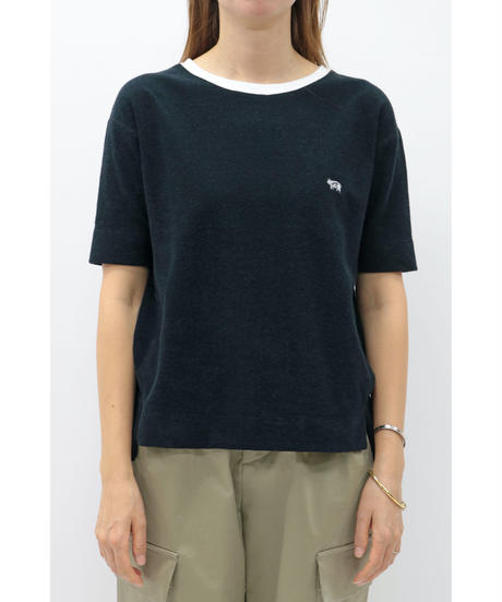 WEAR THE PHILOSOPHY / ウェアザフィロソフィー パイル地クルーネックTシャツ