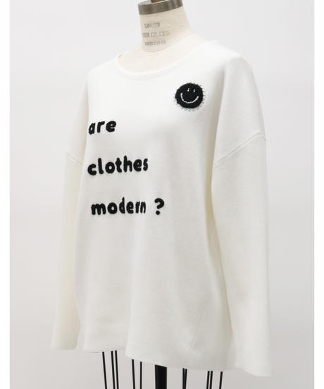 LOANA  /  ロアナ サガラ刺繍ニットプルオーバー