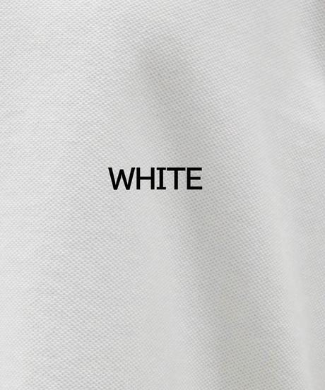 WEAR THE PHILOSOPHY / ウェアザフィロソフィー/鹿の子 ドルマン調スリーブ ポロシャツ