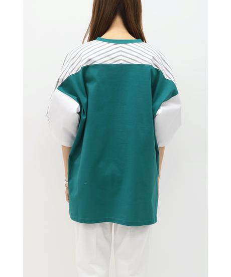 WEAR THE PHILOSOPHY / ウェアザフィロソフィー/配色ビッグTシャツ