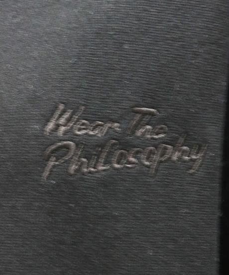 WEAR THE PHILOSOPHY / ウェアザフィロソフィー  スウェット ブルゾン