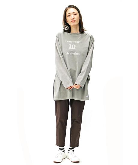 WEAR THE PHILOSOPHY  /  ウェア ザ フィロソフィ ー  /  70-80900  ピグメント加工 ロングスリーブTシャツ