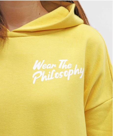 WEAR THE PHILOSOPHY / ウェアザフィロソフィー フーディ スウェット ワンピース