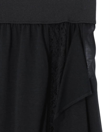 Rito / SEE THROUGH SKIRT WITH LACE