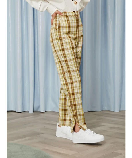 GHOSPELL / Narrative Check Tailored Trousers