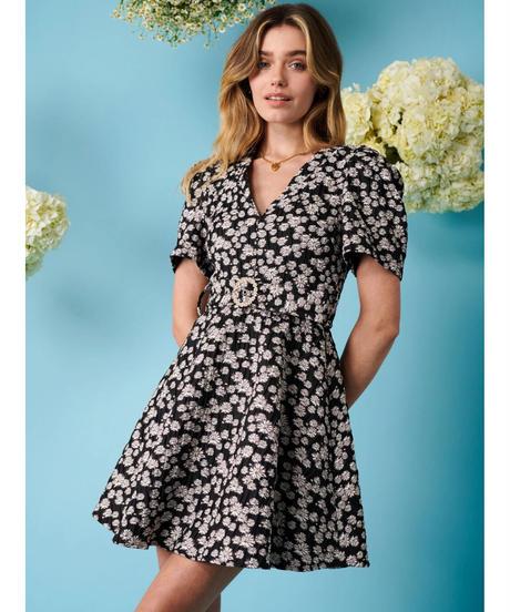 sister jane / Lavender Twist Mini Dress