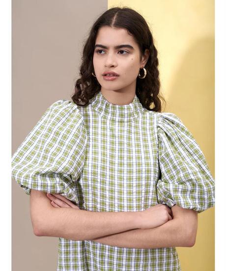 GHOSPELL / Dawn Check Mini Dress