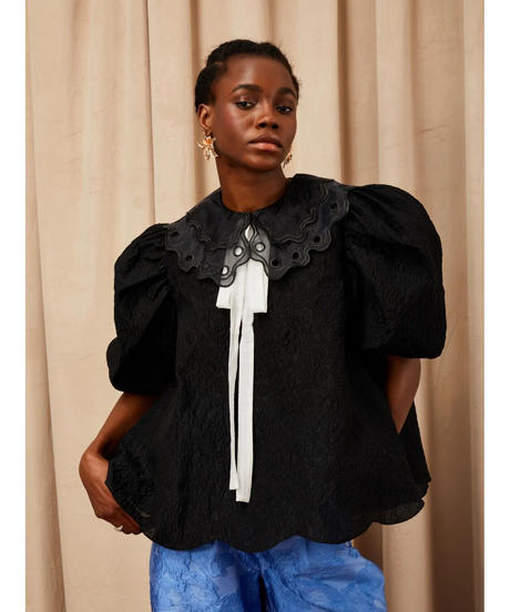 sister jane / DREAM Coupe Jacquard Oversized Top
