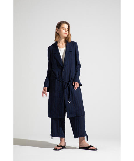 Robes & Confections  /  Washable Rayon Twill Ventilation Shirt Coat
