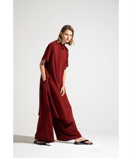 Robes & Confections  /  Washable Rayon Soft Twill Flare Pants