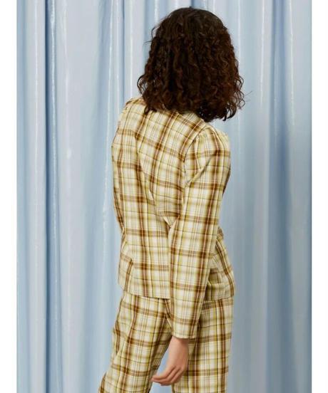 GHOSPELL / Narrative Check Lightweight Overshirt