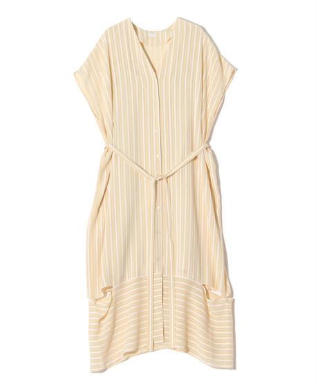 Rito / STRIPE JACQUARD DRESS
