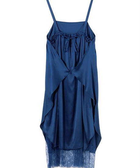 Rito / SILK SALOPETTE DRESS