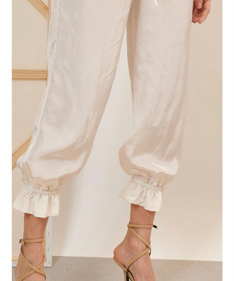 GHOSPELL / Notion Drawstring Trousers