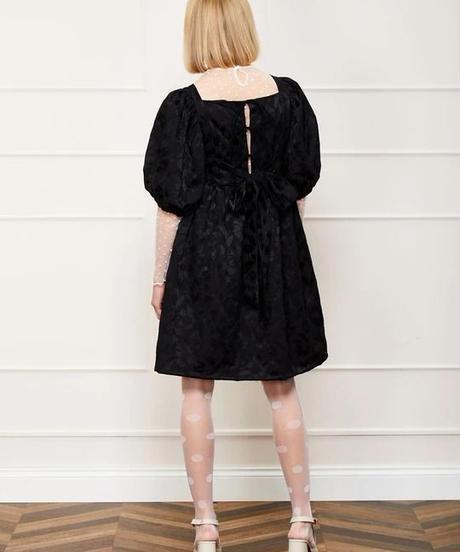 sister jane / DREAM Poppy Preen Jacquard Mini Dress