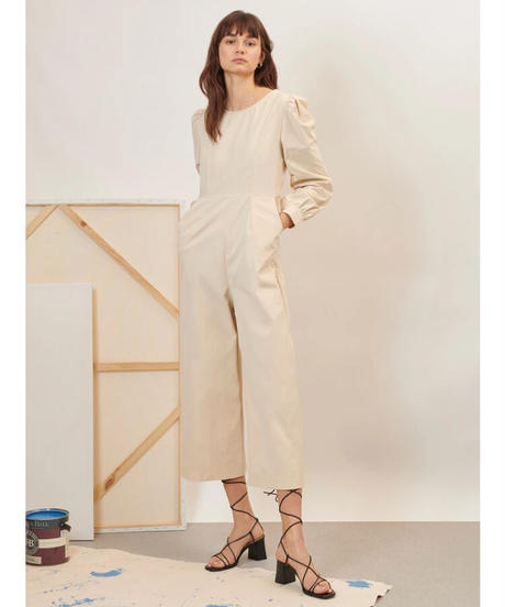 GHOSPELL / Craft Open Back Jumpsuit