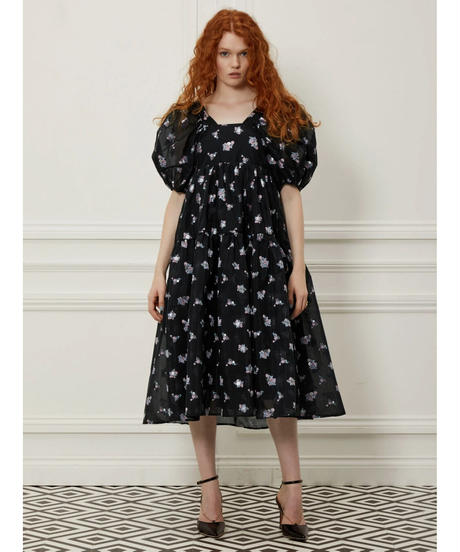 sister jane / DREAM Gilda Jacquard Midi Dress