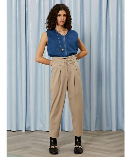 GHOSPELL / Unpublished High Rise Trousers