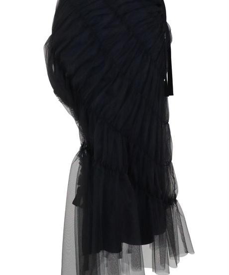 FETICO / Gathered Tulle Skirt
