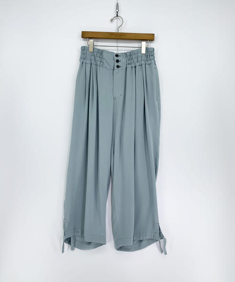 Robes & Confections  /  Washable Rayon Soft Twill Ankle Tied Easy Pants